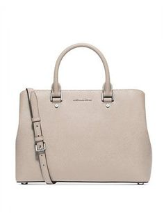 954895b21e8d MK Savannah handbag Michael kors Savannah medium satchel. Beautiful brown  luggage color for a MK Purse. It's in great condition. No we…