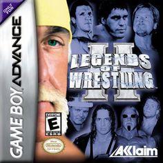 Legend of Wrestling II - Game Boy Advance Game