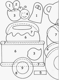 Interlinings and patchwork: Patterns for applications Quilting Templates, Applique Templates, Applique Patterns, Applique Designs, Hand Applique, Machine Embroidery Applique, Applique Quilts, Machine Quilting, Felt Crafts Patterns