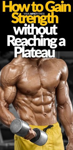 Bodybuilding When people strive to increase the weight lifted each and every workout, they inevitably hit a strength gain plateau. Here's how to ensure you hit fewer sticking points in your workout program. Weight Training, Weight Lifting, Weight Loss, Losing Weight, Body Weight, Muscle Mass, Gain Muscle, Build Muscle, Muscle Building