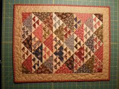 Civil War Mini Quilt