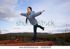 girl balancing on beam - Google Search