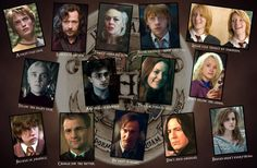 Hufflepuff, Rawenclaw, Slytherin and Griffindor together