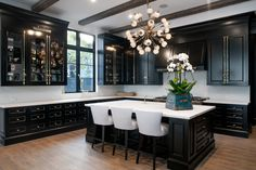 Black kitchen cabinets pictures Paint Black Kitchen Cabinets With Brass Cremone Bolts Decorpad Black Kitchen Cabinets With Brass Cremone Bolts Contemporary Kitchen Kitchen Cabinets Pictures, Black Kitchen Cabinets, Black Kitchens, Home Kitchens, Kitchen Black, Kitchens With Dark Cabinets, Floors Kitchen, Cottage Kitchens, Modern Kitchens