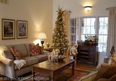 Christmas Living Room 1