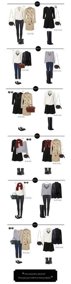 mala de viagem / dicas de moda / dicas de estilo / trip tips / outfits / looks / otimização do guarda-roupa / personal stylist