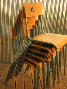 school chairs for dining room I call them standard tube chairs  Too beautiful :)
