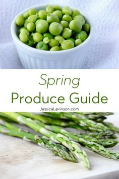 Celebrate the new season with this spring produce guide featuring seven fruits and vegetables that are full of color, flavor, and nutrition. Real Food Recipes, Vegetarian Recipes, Healthy Tips, Healthy Eating, Eat Seasonal, Healthy Side Dishes, Spring Recipes, Food Allergies, Diet And Nutrition