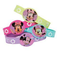 Minnie Mouse's Bow-Tique Bracelets - OrientalTrading.com