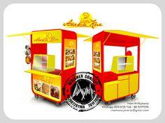 Jasa Desain Logo Kuliner |  Desain Gerobak | Jasa Desain Gerobak Waralaba: Desain Gerobak Aneka Kue