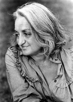 """Betty Friedan 1921 - 2006   """"No women gets an orgasm from shining the kitchen floor""""    