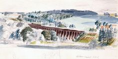WELWYN VIADUCT by STANLEY ROY BADMIN