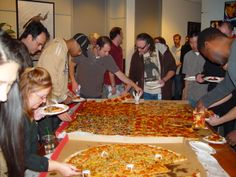 What gathers people around the table better than #BMPP pizza?