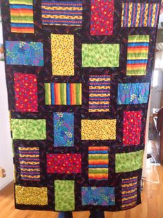 Baby quilt donated to Burstall fundraiser for hall...2015