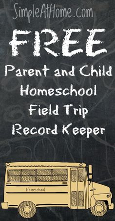 this is a great way to track waht your child learns on field trips and the child log helps make panning the next field trip a breeze.