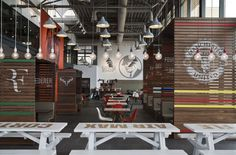 Nike Canteen by UXUS, Hilversum - Netherlands