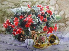 CELAL GÜNAYDIN Watercolor