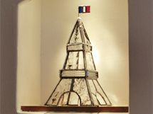 Eiffel Tower by T-glass