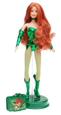 DC Comic Barbie Doll: Poison Ivy