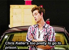 Gotta love that Chris Keller.  I hated him in the beginning.  But at the end, he came through when we needed him.