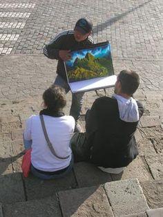 Acabo de compartir la foto de Sergio Reyna que representa a: Pintura de Machu Picchu