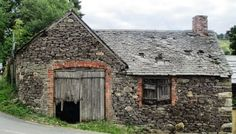 The old forge at Bridges, Shropshire