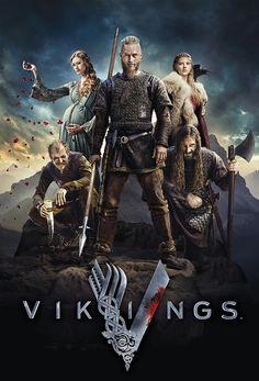 Poster zu Vikings, der History-Channel-Serie über die Wikinger.