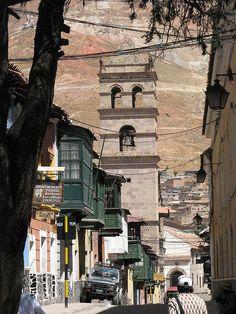 Calle de Potosi, Bolivia by camacho.maria, via Flickr