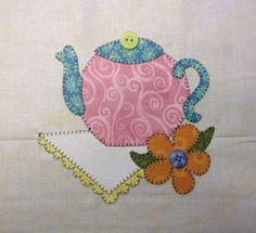 Looking for your next project? You're going to love BOM 2015 February Block Teapot by designer Quilt Doodle. - via @Craftsy