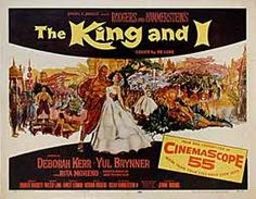 The King and I, 1956 - Original Movie Poster