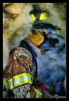"""When I am called to duty, God, wherever flames may rage, give me the strength to save a life, whatever be it's age..."""
