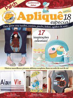 Artesanato - Apliquê - Patchwork : COL AMANDA APLIQUE ESP 018 - Editora Minuano