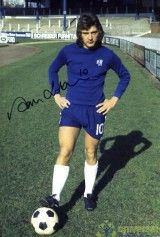View Alan Hudson Chelsea Signed 12x8 Photo
