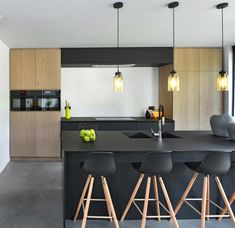 Moderne keukens van GOPA keukens - interieur My Kitchen Rules, Kitchen On A Budget, New Kitchen, Modern Kitchen Design, Interior Design Kitchen, Small Space Kitchen, Inside Home, Apartment Kitchen, Cool Kitchens