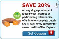 SavingStar Healthy Offer: 20% Off Loose Sweet Potatoes!