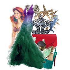 """""""Masked Ball - Ariel"""" by annabelle-95 on Polyvore"""