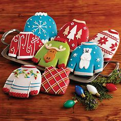 Product: Ugly Christmas Sweater Cookies | Christmas Cookie Gifts