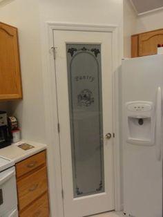 Best Black Door And A Frosted Pantry Door Current Home 640 x 480