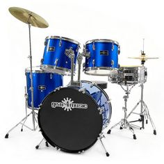 The GD-5 Drum Kit includes everything you need to get rocking. With cymbals, gig grips, a drum throne and sticks, this package is perfect for the developing drummer looking for a great rock sound. £249.99