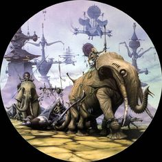 Love this fantasy art by Rodney Matthews
