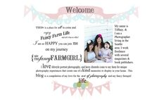 The Fancy Farmgirl: Fun web design, great photographs, and a happy-go-lucky way of addressing life. Love it!