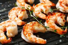Stock Image: Food and Drink Chef Recipes, Seafood Recipes, Cooking Recipes, Shrimp Appetizers, Best Appetizers, Easy Bruschetta Recipe, Healthy Sour Cream, Grilled Shrimp, Galette