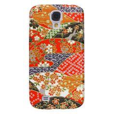 kimono Japanese style samsung cover Samsung Galaxy S4 Case #japan #oriental #asian