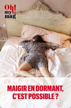 Perdre des kilos et dormir en même temps, mythe ou réalité ? Voici pourquoi le sommeil influe sur notre perte de poids et pourquoi il ne faut pas sous-estimer le manque de sommeil !