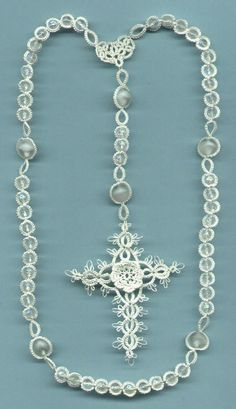 Tatted Rosary