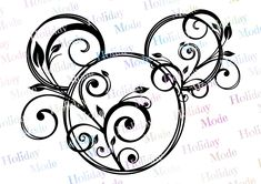 Disney Mickey Mouse, Mickey Mouse Design, Mickey Tattoo, Mickey Mouse Tattoos, Mickey Mouse Drawings, Disney Diy, Disney Crafts, Disney Clipart, Disney Scrapbook
