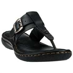 Born Lory Side Buckle Thong Sandal