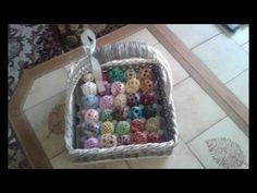 velikonoční košík na vajíčka fotopostup - YouTube