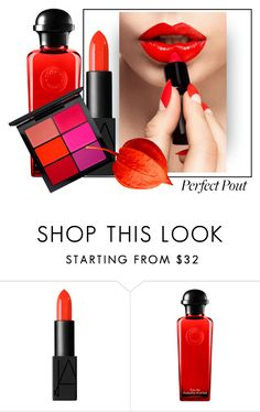 """""""style"""" by sandevapetq ❤ liked on Polyvore featuring beauty, NARS Cosmetics, Hermès, MAC Cosmetics and Sophy Robson"""