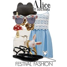 """Alice"" by leslieakay on Polyvore"